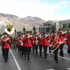 The New Zealand Army Band will lead the Kaiapoi street parade. Photo: File