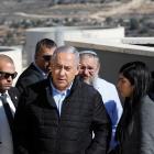 "Israeli Prime Minister Benjamin Netanyahu (left) says the Trump administration has corrected ""a..."