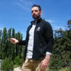 Tourism Central Otago digital marketing manager Antz Longman trials the new 360 Google Street...