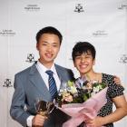 Alan Li and Maria Mendoza