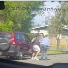 It was the second alleged carjacking in about an hour by two men. Photo: Supplied