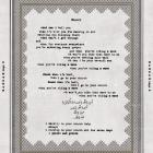 Lyrics for the song Church from Coldplay's upcoming album were printed near the super quiz in the...