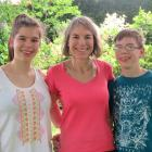 Health researcher Prof Kirsten Coppell with her children Catherine and Marcus Davidson. PHOTO:...