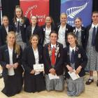 The Christchurch Girls' High School cricket team will look to win the Gillette Venus Cup national...