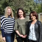 Jane Riach (right), with Murney Trust representatives Tara Newton (left) and Jayne McLaren, is...