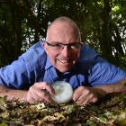 Associate Prof David Orlovich, of the University of Otago Department of Botany, brings part of...