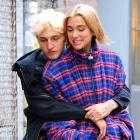 Dua Lipa and Anwar Hadid both dyed their hair blonde. Photo: Getty Images