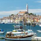 Glittering islands, bays and the ancient town of Rovinj combine to offer a perfect late summer...