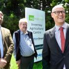 Dunedin North Labour MP David Clark (right), pictured with former Invermay head Dr Jock Allison ...
