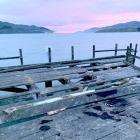Vandals set fire to the end of the jetty and destroyed wooden pillars at about 3pm on Saturday.