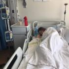 West Melton's Maddie Collins spent the week in Starship Hospital after a biopsy showed she was...