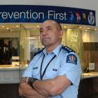 Southern district prevention manager Inspector Matenga  Gray is confident he can reverse the ...