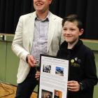 During a visit to Invercargill, Rocket Lab founder and chief executive Peter Beck met  pupils,...