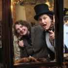 Victorian Fete co-ordinator Frances McMillan (left) and stall-holder co-ordinator Alice Hore gear...