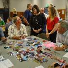 The first of seven early community engagement workshops to be held around the district. Standing...