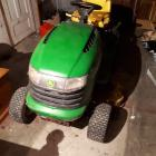 Police are seeking the person who bought this John Deere ride-on lawnmower that was stolen from a...