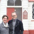 Waimate's Anna Miles, and her husband, Michael Simpson, who bought the Kakanui Presbyterian...