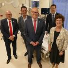 Pictured inside one of Lakes District Hospital's two new resuscitation rooms at the official...