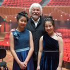 Last week, Cathedral Grammar pupil Chloe Jiang (left) and Rangi Ruru pupil Polly Lee performed...