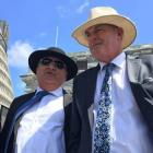 Regional Economic Development Minister Shane Jones (left) with National's agricultural spokesman...
