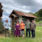 Glenorchy Heritage and Museum Group committee members, from left, Amanda Hasselman, Leslie Van...