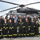 Otago Rescue Helicopters staff, Southern District Health Board staff, St John staff and Dunedin...