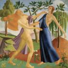 Persephone returns to Demeter, by A. Lois White.