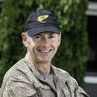 Major Aaron Williamson  PHOTO: New Zealand Defence Force