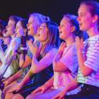Voices Co. Academy performers at its Christmas show last year. Photo: Mark Jensen