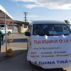 Mobile units have been going out every day taking vaccines to villages. Photo: RNZ