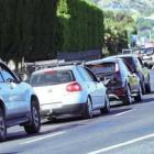 Police talk to motorists after a fatal accident in Hawke's Bay. Photo: NZME