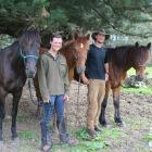 Three Kaimanawa horses and their humans, Jess Mullins and Bijmin Swart, are one month into their...