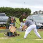 Nicholas Corbin, of Christchurch, was one of about 40 people competing in Riverton yesterday as...