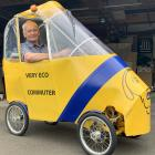 Southland engineer Bill Blakie spends most of his time  in the garage building his sustainable...