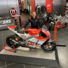 Jeff Nash at his Ducati dealership in Dallas. PHOTOS: SUPPLIED