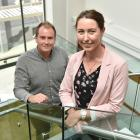 Interns Luke Fisher and Emma Hinton have been enjoying their stint at AbacusBio. PHOTO: GREGOR...