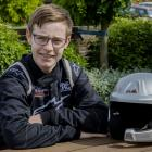 15-year-old Jared Hudson will co-drive in one of the country's top cars next year on the path to...