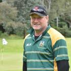 Jeff Grubb ready to play a relaxing game of golf at the Port Chalmers Golf Club earlier this...