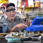 Dunedin Hospital biomedical engineer Len Foley, who has retired after 41 years of repairing...
