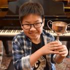 The multi-talented Nathanael Koh holds a recent composing award. Photo: Gregor Richardson