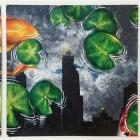 Kavanagh College art pupil Rosie Auckram's triptych draws inspiration from Monet — particularly...
