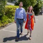 Chris and Miriam McKenzie.  PHOTO: GEOFF SLOAN