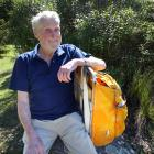 Ivan McLachlan (90) has checked in at the Mt Aspiring Doc office in Wanaka, before driving to...