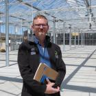 Otago Polytechnic Central Campus manager Kelly Gay is looking forward to the completion of the...