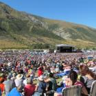 A crowd of 15,000  nestled in the Gibbston hills on Saturday for the concert. Photos by Christina...