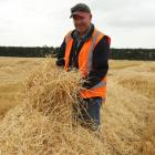 Mid Canterbury Vintage Machinery Club president John Stewart says the latest barley straw harvest...