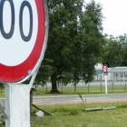 Concerned Waitahuna resident Tim Dickey has started a campaign to move 100kmh speed signs further...