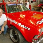 Clyde Collins will watch his new replica of the 1973 OSCA winning Cortina at the Skope Classic's...