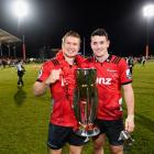 Jack Goodhue and Will Jordan are part of a star-studded Crusaders back-line which looks like the...