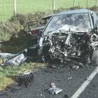 A man died in the collision that caused Chris Wesley's injuries in 2009. Photo: Supplied